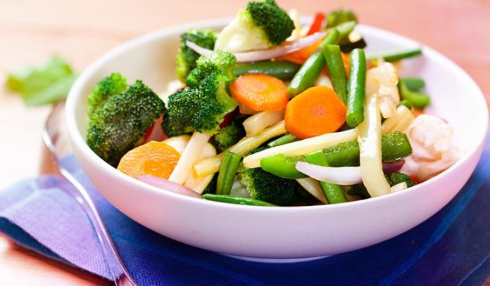 Have cooked vegetables instead of eating them raw.