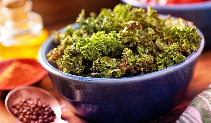 Crispy Greens Make A Great Snack