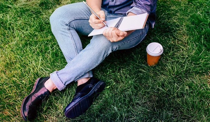 Contemplate The Intricacies Of LIfe With A Notebook And Pen