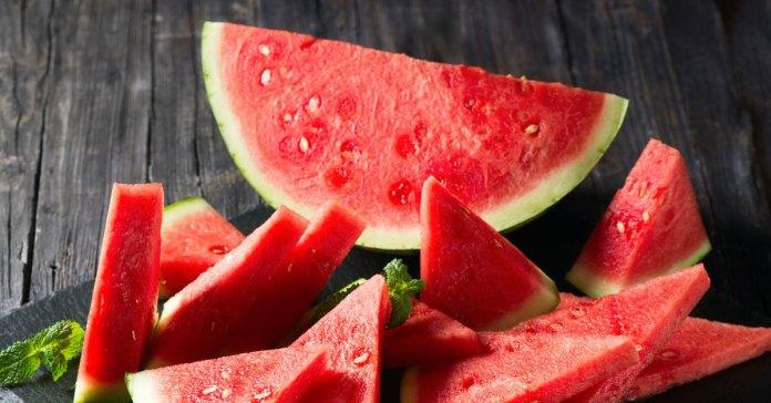 Watermelon is a popular summer fruit.