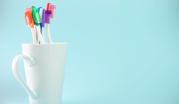 Use mouthwash to clean your toothbrush.