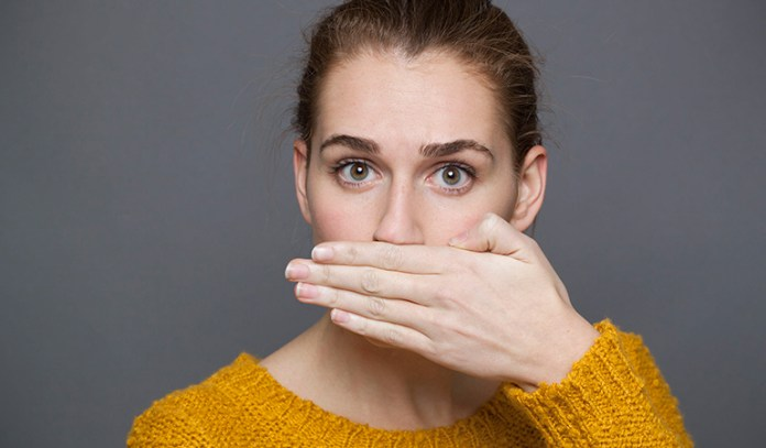 Cold Sores Appear On The Mouth