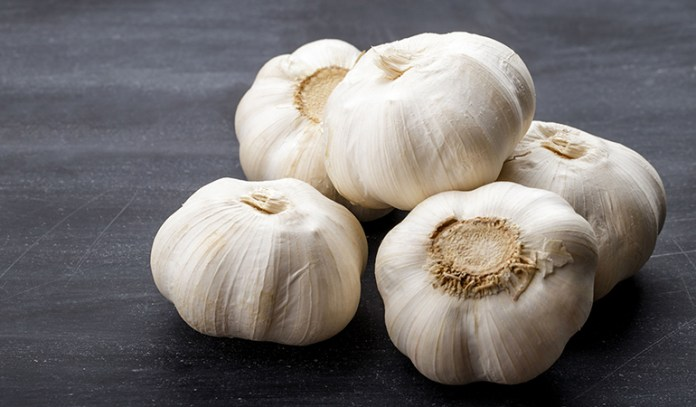 Garlic is good for blood circulation.