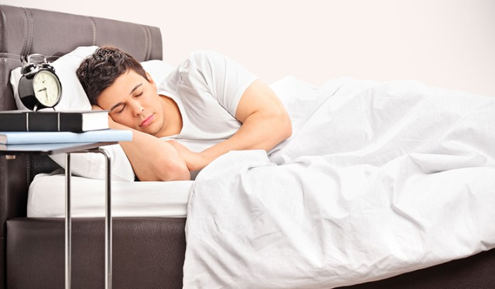for high energy levels, get adequate sleep