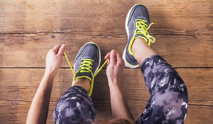 Exercising regularly helps elevate the mood by releasing happy hormones like endorphins.
