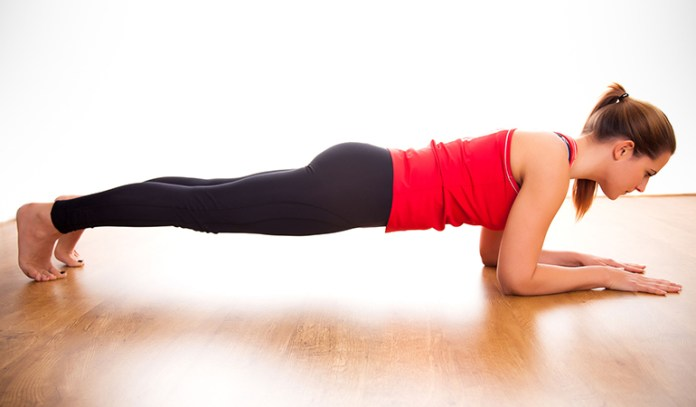 Do planks instead of crunches