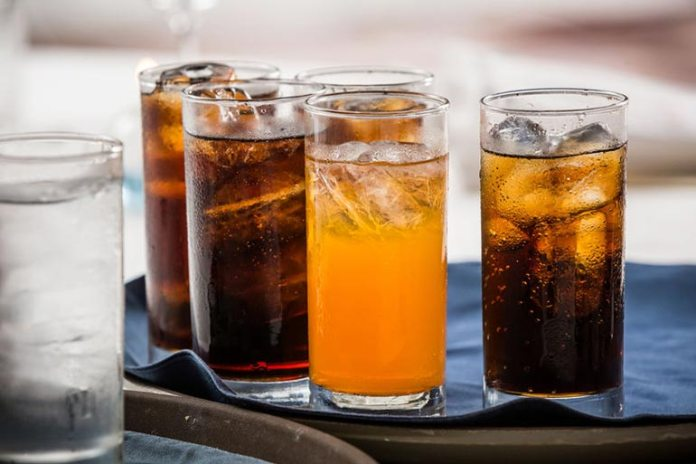 Soft drinks contain too much sugar
