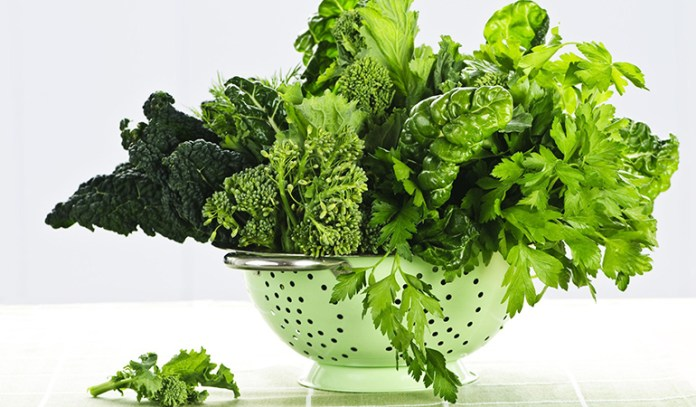 Leafy greens to reduce the risk of stroke