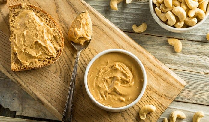 Nut butters are a good source of healthy fats and protein.