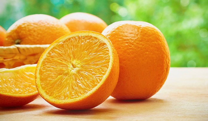 Oranges are rich in vitamin C and help fight inflammation, pain.