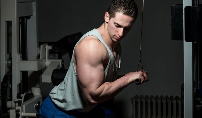 Push downs should performed to overload the muscles