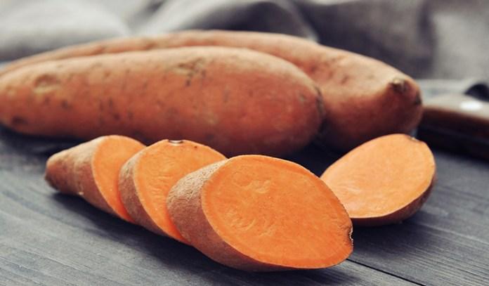Tuber vegetables like sweet potatoes are also alkaline.