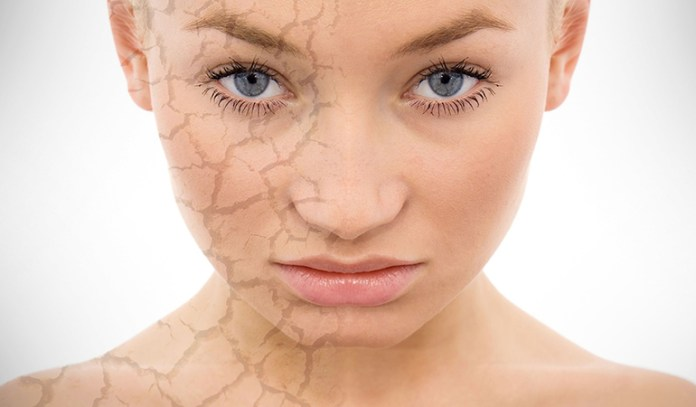 Skin ageing is caused by sun damage, time and decreased collagen production.
