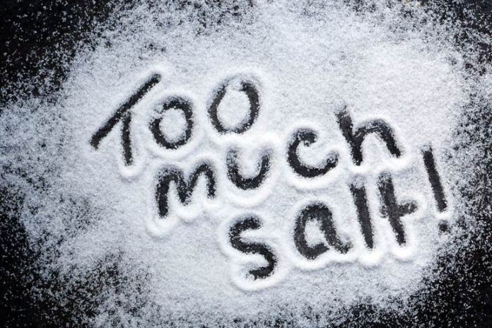 Sodium increases blood pressure, which is a cause of heart attacks.