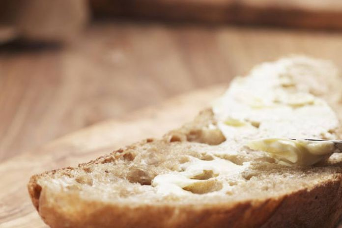 Salt is hidden within breads and spreads