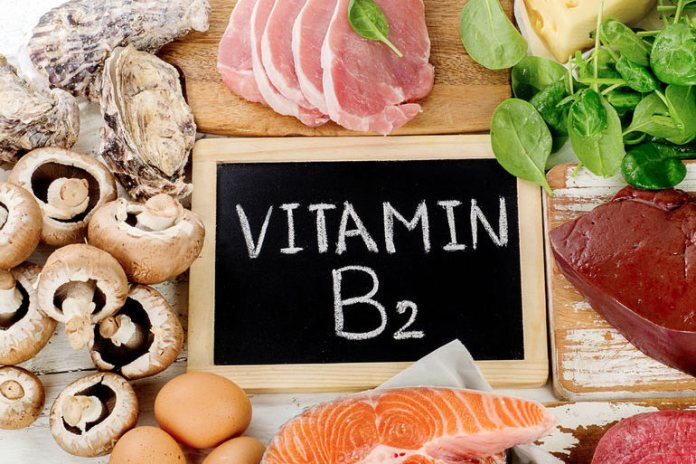 Vitamin B2 deficiency can cause skin and thyroid problems
