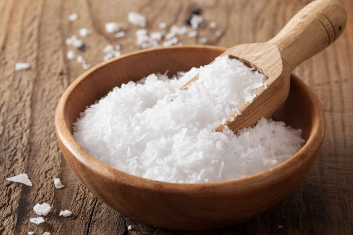 Salt is a power antibacterial substance.