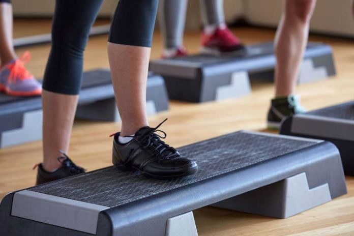 The Harvard step test is an easy way to see if you are unfit.