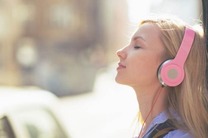 Listening to any form of music will help to ease your mind and body