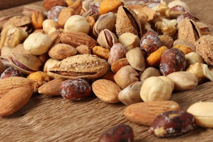 Nuts are high in calories and can make you gain weight