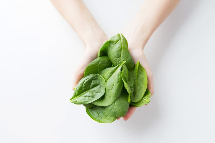 Spinach is a powerful food for your over all health and to lose weight