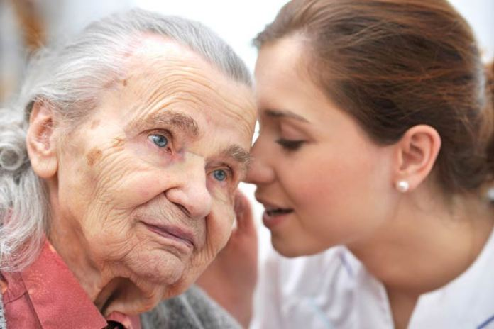 Aging brings about loss of hearing