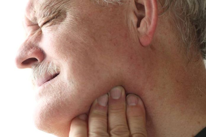 Ice packs and gentle massage can help with jaw problems