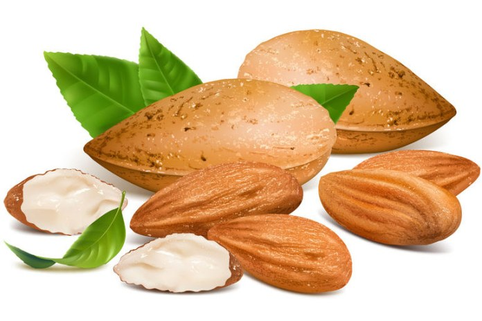 Almonds provide you with healthy fats