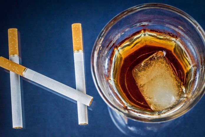 Cut Down On Smoking And Alcohol To Prevent Serious Problems Like Heart Disease And Stay Young And Healthy