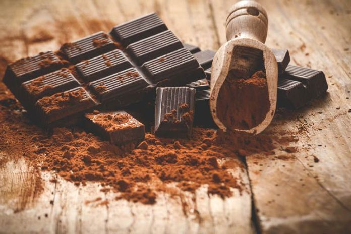 Excess dark chocolate causes lower BMI and high antioxidant intake