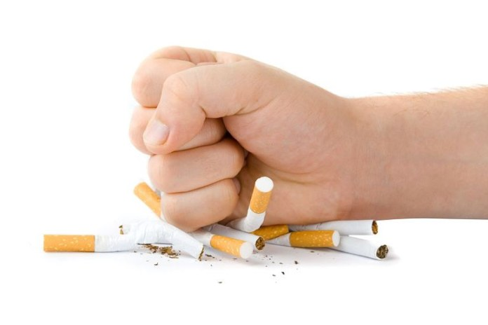 Nicotine withdrawal increases cortisol levels.