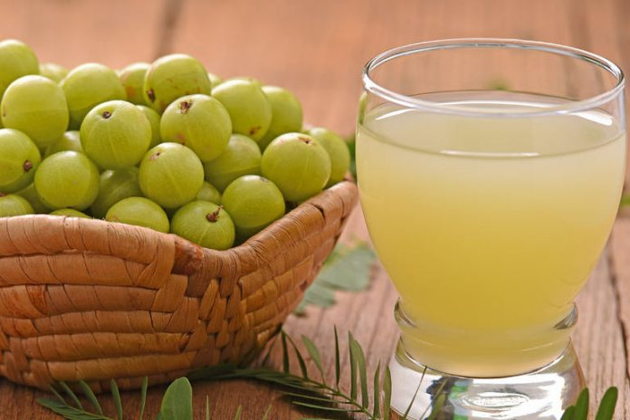Gooseberry is acidic and maintains the body's PH level, thus eliminating odor.