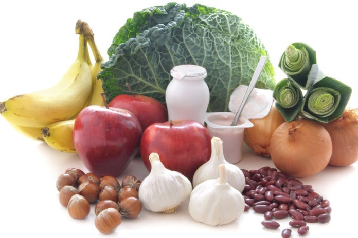 Examples of prebiotics include honey, asparagus, bananas, oats, and onions