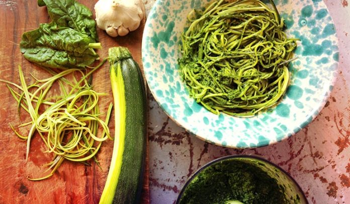 Spiralized vegetables are the healthiest alternative to pasta