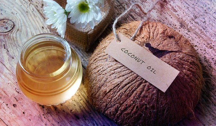 Coconut oil is anti-fungal and anti-inflammatory.