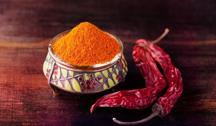 Chili powder contains capsinoids, which burns belly fat