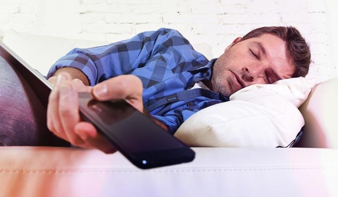 Smartphones May Also Be The Last Thing People Look At Before Falling Asleep