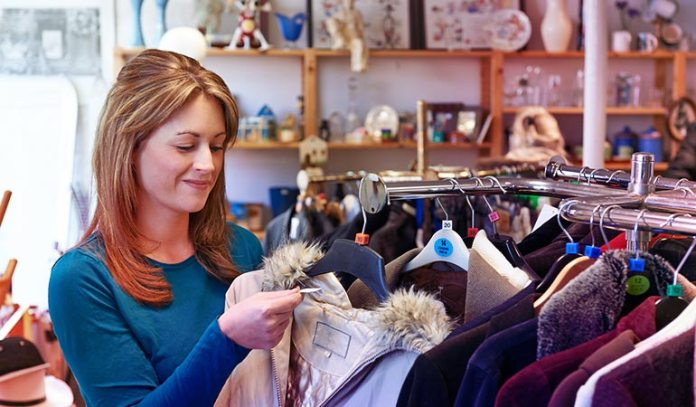 : Buy Second-hand Clothes
