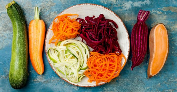 gluten-free vegetable noodles