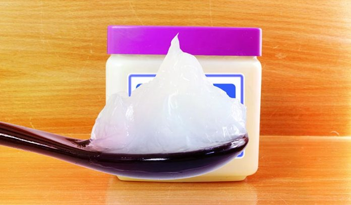 Petrolatum, or petroleum jelly, is known for its property of blocking the pores)