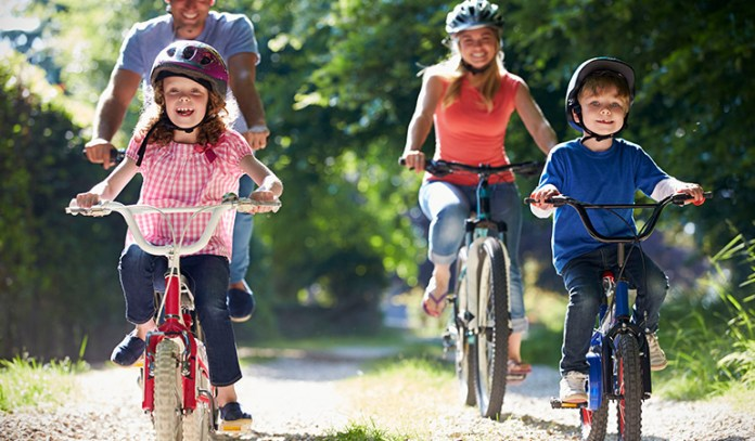 healthy lifestyle and routine during childhood