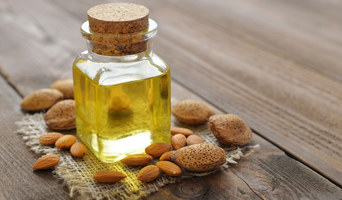 almond oil prevents skin tanning