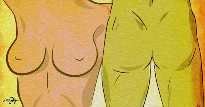 Breasts and the prostate are similar in their composition and function