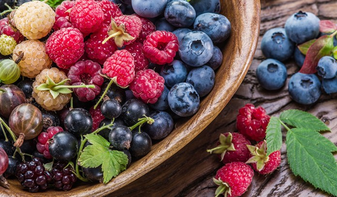 Blueberries are rich in anthocyanins that reduce your risk of Alzheimer's.