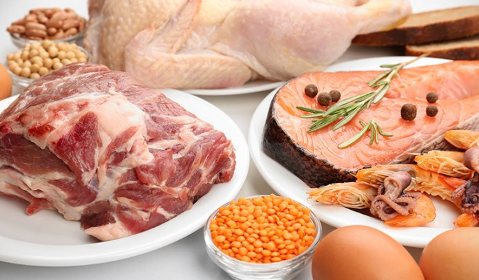 Lean cuts of meat from grass-fed animals, pastured eggs and wild-caught fish are good protein sources for meat-eaters.