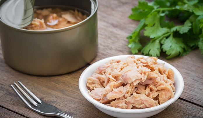 Canned tuna is rich in iodine but take it in moderation