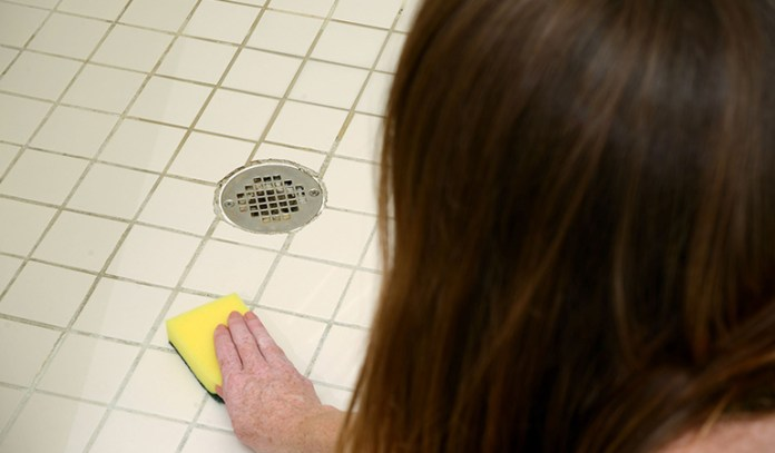 It's important to wipe all wet surfaces in the bathroom every day.
