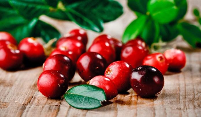Cranberries have 4.7 grams of sugar per cup.