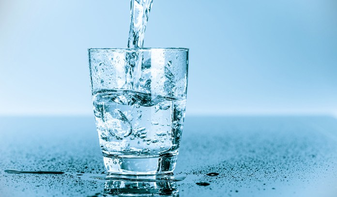 Drinking plenty of water helps you rid your body of toxins naturally.