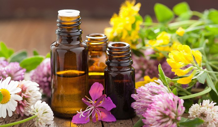 Essential oils help boost the lymphatic system.